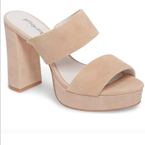ce03ad43c97b Jeffrey Campbell Shoes - NWOT Jeffrey Campbell Adriana Platform Sandals